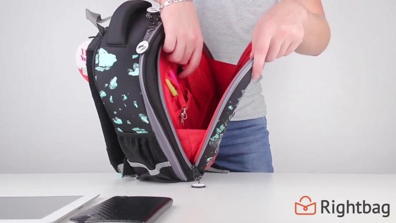 Школьный рюкзак Grizzly RA-778-7 - видеообзор от Rightbag.ru