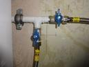 Connection of two gas appliances Подключение двух газовых приборов к одному стояку