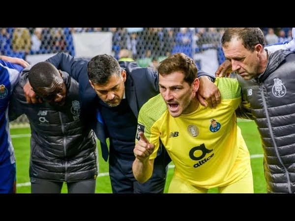 Iker Casillas Legendary Saves 2018 19 HD