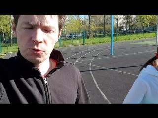 День 18. Что-то пошло не так)) вытаскивала Дениску на пробежку и забыли выложить видосик.