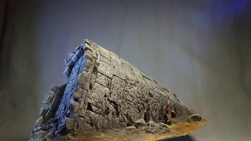 Упавшая башня Гондор Древние руины