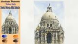 Santa Maria della Salute (Venice. Italy) -Landscape watercolor(wet-in-wet. Arches)NAMIL ART