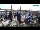 Муфтий Дагестана, шейх Ахмад Афанди посетил площадку для совершения обряда жертвоприношения