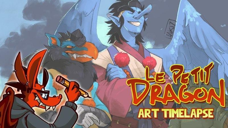 Art Timelapse: Yokai Squad
