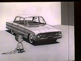 1960 Ford Falcon TV commercial wcharacters from the Peanuts comic strip (2 minutes)