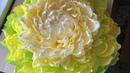 Большой цветок Украшаем стену