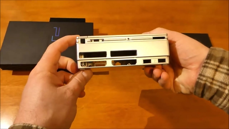 [Наша жизнь на Аляске США] Мой новый прототип SONY PlayStation 2 Mini Финальная версия корпуса, Часть 2