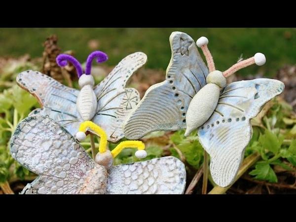 Keramik Schmetterling