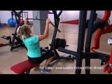 Наталия - тренировка мышц спины