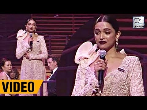 Deepika Padukone's Full Speech At Time's 100 Most Influential People in 2018 | LehrenTV