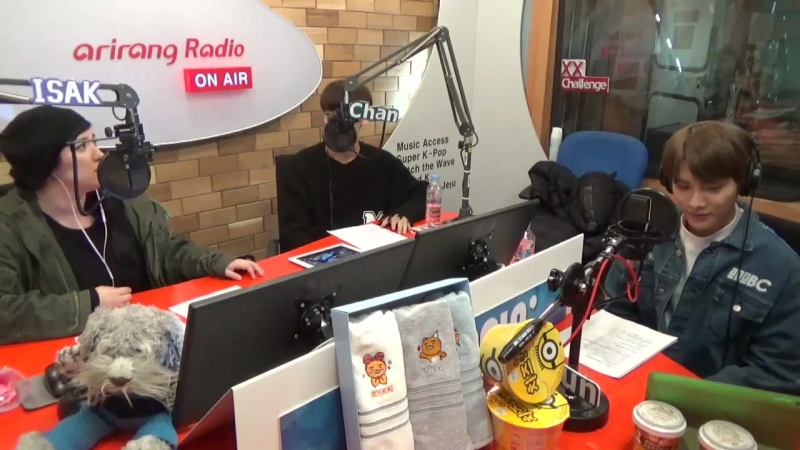 RADIO   08.11.17   Jun, Chan @ Arirang Radio K-POPPIN' IDOL CLASS 4 (Ep. 8)
