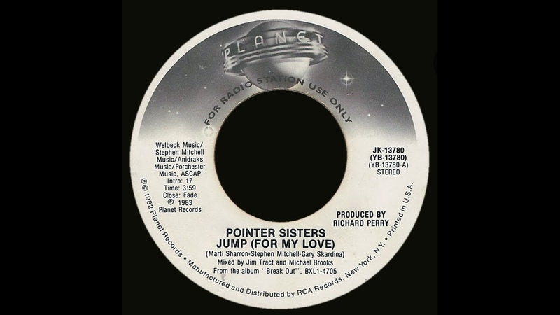 Pointer Sisters ~ Jump (For My Love) 1983 Disco Purrfection Version