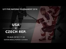U17 5 Nations Tournament 2018 | USA – Czech Republic