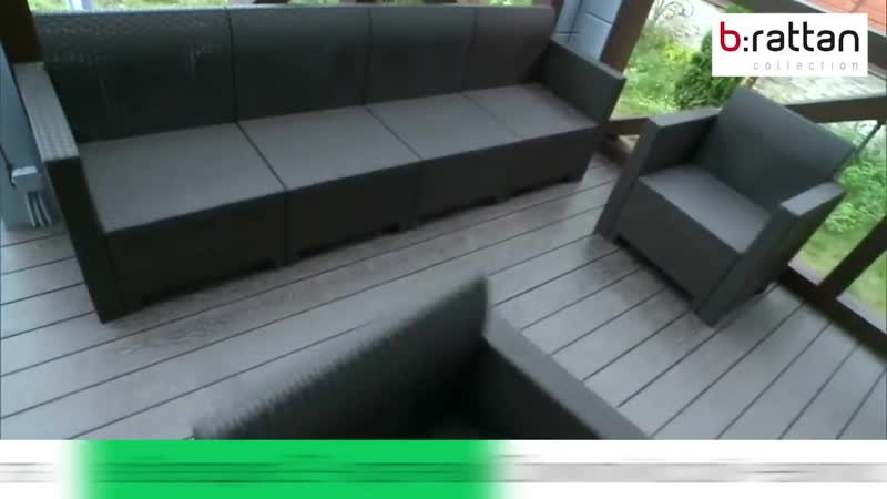Передача «Фазенда»_ «Беседка для чемпионки» с мебелью «B_rattan»
