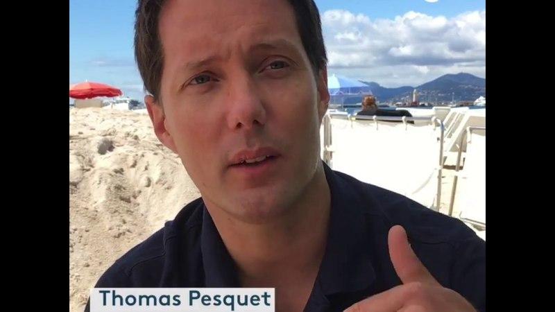 Thomas Pesquet fait son festival de Cannes et parle de 16 levers de soleil