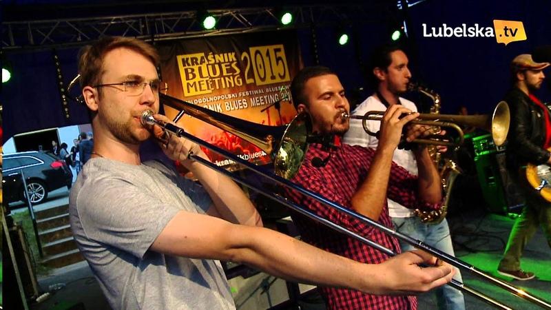 Kraśnik Blues Meeting 2015 Kraków Street Band KONCERT