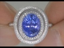 Tanzanite Diamond Ring From $2 Million Dollar Jewelry Collection Up For Auction