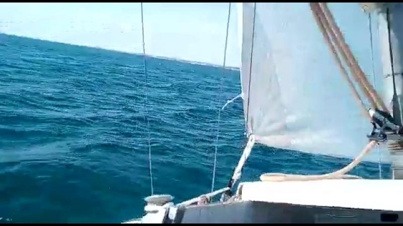 Прогулка на яхте. Анапа. Черное море