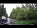 ДТП - пожилой карельский подснежник на дороге