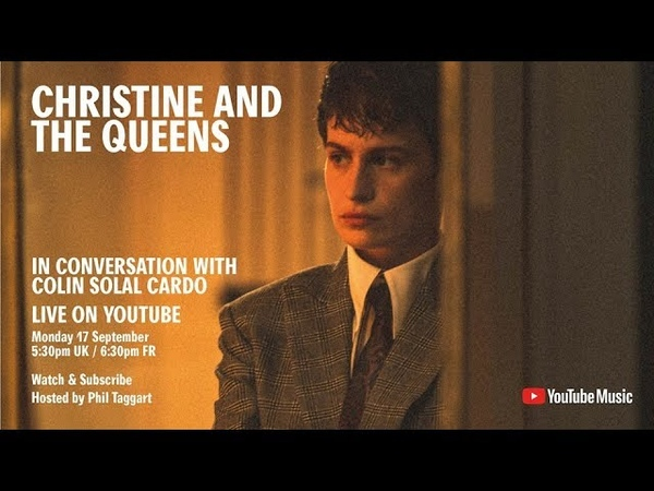 Christine and the Queens in conversation with Colin Solal Cardo (YouTube Music event 17.9.18)
