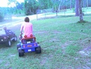 Mommy Power Wheels Fun