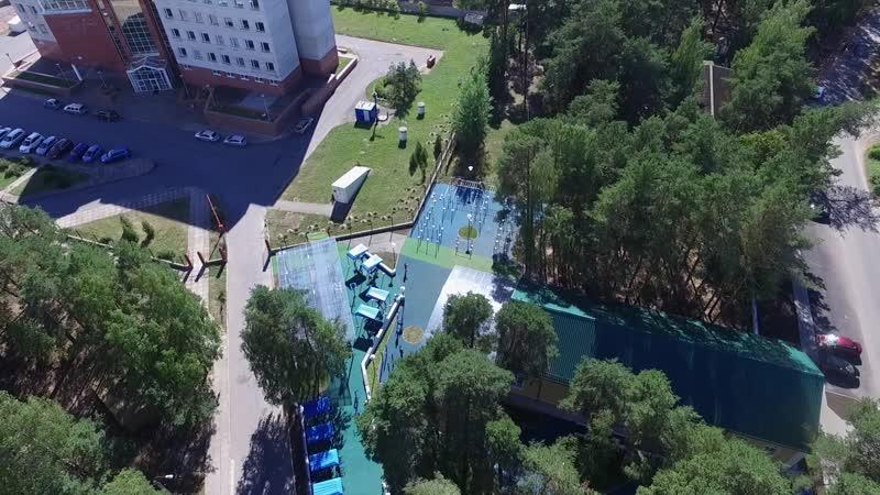 Спортивный кластер - городу от Ассоциации Граждане города Сосновый Бор и Ленинградской АЭС