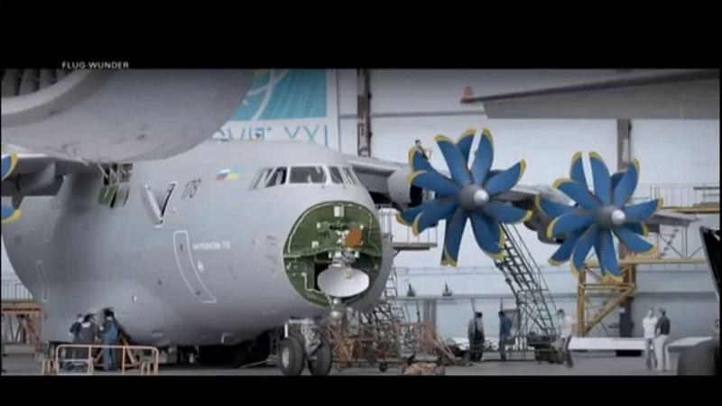 Das größte Flugzeug der Welt - Die Antonov 225 Teil 1/3
