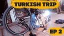 Заварил раму в путешествии, велосипед еле дышит Turkish Trip, ep2