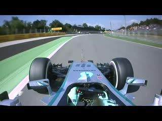 Nico Rosberg's Flying Lap around Monza