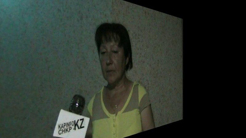 СНКР На больничной койке оказалась одна из защитниц кооператива Капшагай Алтын Алма