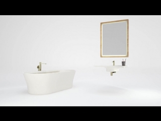 Tono _ a bathroom collection by porcelanosa group  foster partners