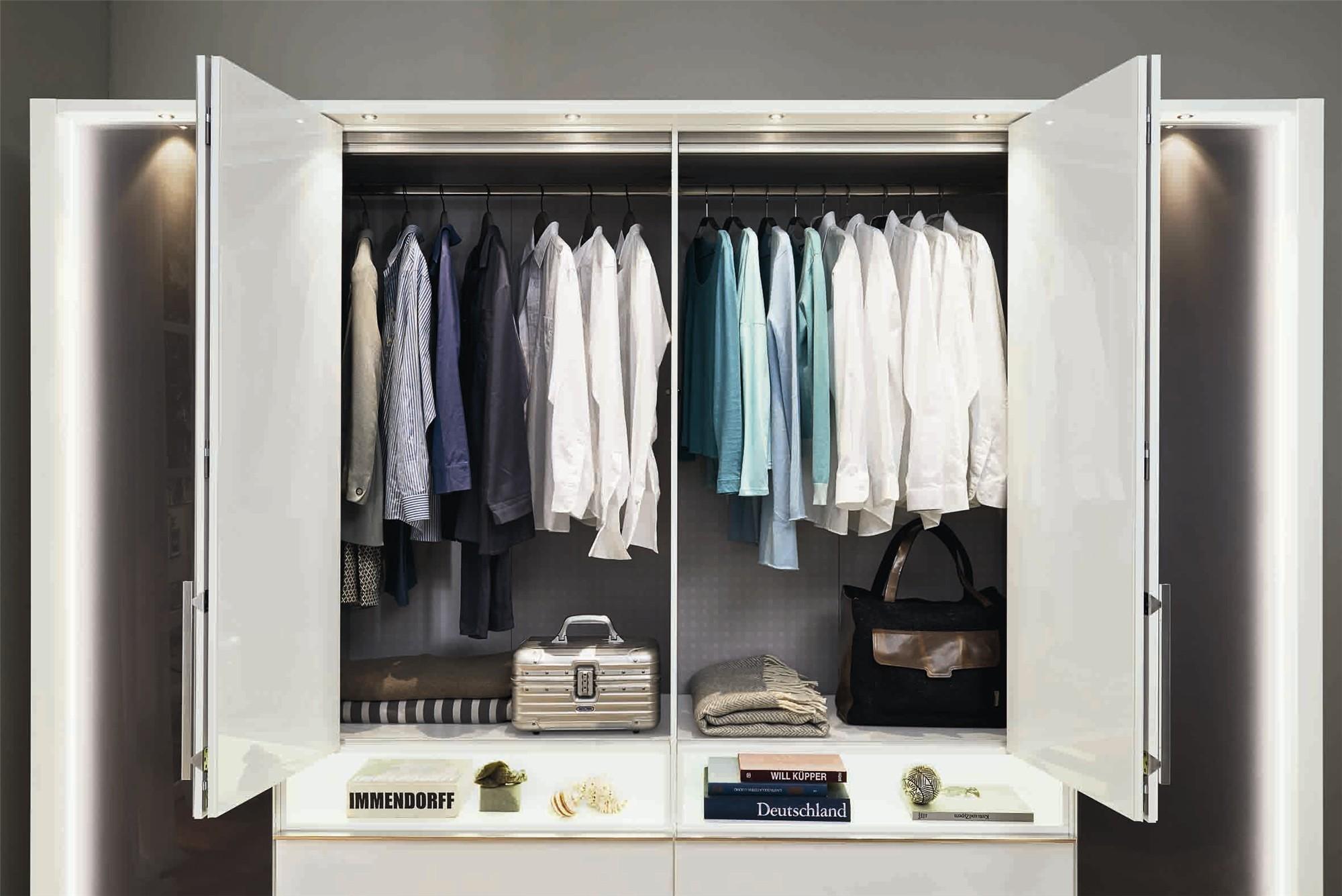 Типы шкафа-купе для спальни