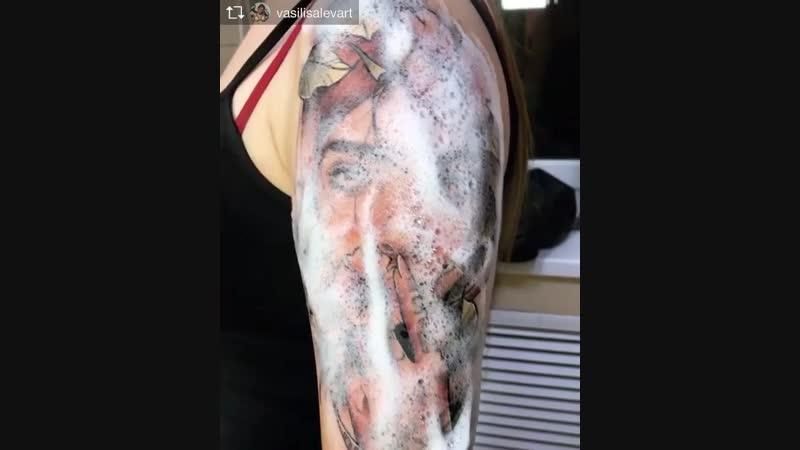 Мастер команды Druid Vasilisa Levart Ростов на Дону @ vasilisalevart @ magnum tattoo studio vasilisalevart tattoo druidtattoo
