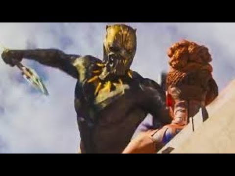 Marvel Studios Black Panther - Final Battle Scene - Black Panther VS Killmonger