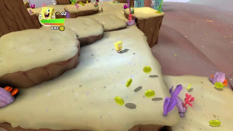 [ShadowBMX] Прохождение SpongeBob HeroPants (Часть 1)