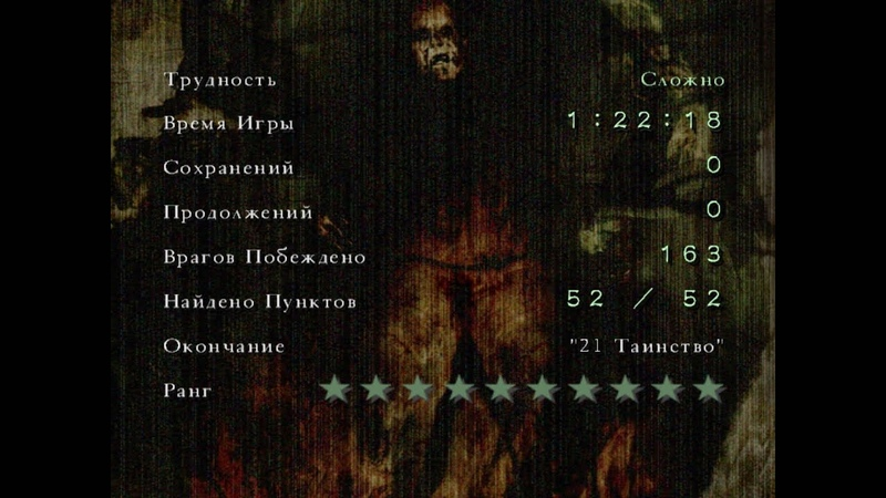 Silent Hill 4 10 star ranking