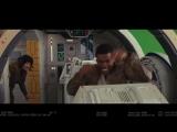 К выходу фильма «Звездные войны: Последние джедаи» представили забавную нарезку со съёмок