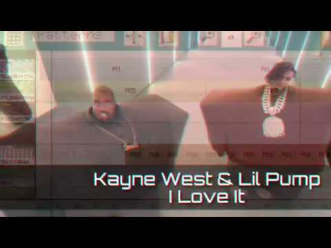 Kanye West Lil pump - I Love It бит на телефоне remake in caustic 3.2project