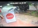 Coca-Cola advertisement car accident