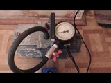 test of the vacuum pump Vnk-2
