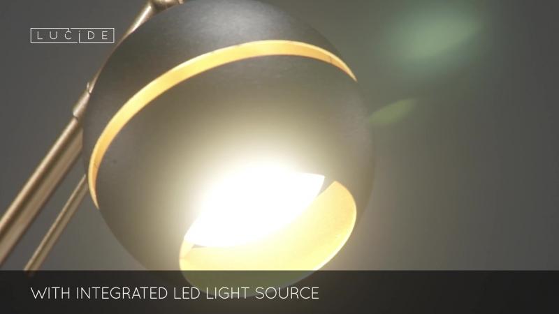 Настольная лампа декоративная Lucide Binari LED 77676 05 30 LCD 77676 05 30