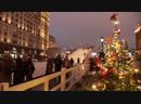 200 тонн радости в Москве появилась огромная ледяная горка ФАН ТВ