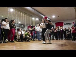 Chavy & Lola - Semba demo in Kompa music (Avilés 2019)