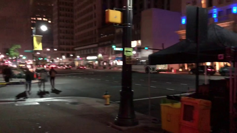 "Movie ""Joker"" filmed in Newark, NJ (10/15/2018)"