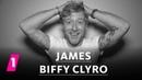 James Johnston von Biffy Clyro im 1LIVE Fragenhagel 1LIVE