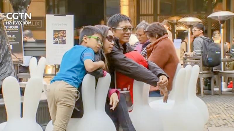 Общественные места Шанхая украсили 19 арт-инсталляций в рамках дизайнерской выставки