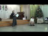 2)Новогодний карнавал в ДМШ №6 - Емеля и Снегурочка 22.12.2017 (Нижнекамск)
