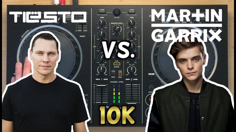 Martin Garrix vs Tiësto Live Mix | Pioneer DDJ-RB [10K SUBS SPECIAL]