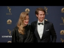 Yvonne Strahovski and Tim Loden at the 70th Emmy Awards