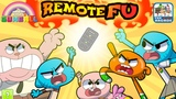 The Amazing World of Gumball Remote Fu - Fight for your Right to Watch TV (Cartoon Network Games)